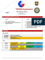 2017 TIFMAS Symposium Flyer