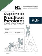 Cuaderno de Prácticas Escolares de Cuarto Grado