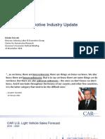 Michigan Governors Economic Outlook Briefing Dziczek 11.2016