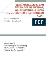Jenis-jenis Audit, Asersi dan Kriteria dalam Auditing FIX.ppt