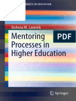 Mentoring Processes in Higher Education