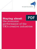 The Work Foundation - Economic Performance of UK's Creative Industry