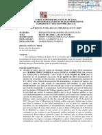 Poder Judicial declara despido Fraudulento y ordena Reposición de Limber Perez Noriega p