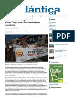 Chupa Chups Como Llección de Teoría Económica - Atlántica XXII