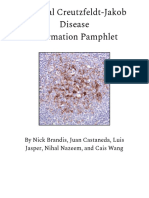 familial creutzfeldt-jakob disease 2f protein synthesis