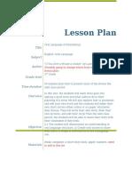 lesson plam