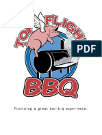 top flight bbq - corporate  information packet