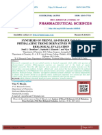 SYNTHESIS OF PHENYL 1H-INDAZOLO [1,2-b] PHTHALAZINE TRIONE DERIVATIVES WITH THEIR BIOLOGICAL EVALUATION