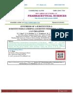 SYNTHESIS OF 1-SUBSTITUTED-2- SUBSTITUTEDGUANIDINO-4-SUBSTITUTEDIMINE-6-THIO- 1,3,5-TRIAZINES