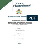 Informe Final PROYECTO Rojas Servidor de Red