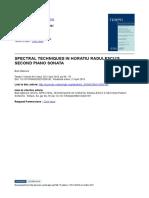 Bob Gilmore, Spectral Techniques in Horatiu Radulescus Second-Sonata.pdf