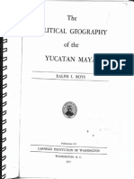 The Political Geography of the Yucatan Maya