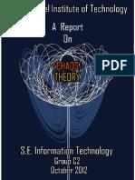 Artigo - A Report of Caos Theory