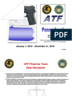 2016 Gun Trace statistics from the ATF