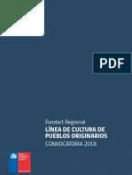 Fondos 2018 Fondart Regional Cultura Pueblos Originarios