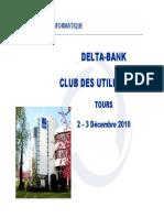 03-Presentation Delta-Bank V10 Nouveaux Modules Et Roadmap Jean-Emmanuel-De-BIEN
