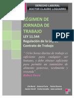 TP DERECHO LABORAL LEY 11544