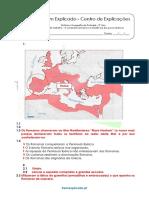 A.2.1 Ficha de Trabalho - A Conquista Romana e a Resistência Dos Povos Ibéricos (1) - Soluções