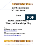 2015 Tok Blog Posts Dombrowski