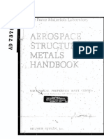 Aerospace Structural Metals Handbook, Volume 2