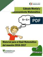 Cuaderno de Cálculo Mental 3