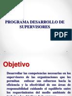 Programa Desarrollo de Supervisores