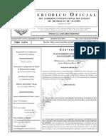 5a. Secc. H. Ayuntamiento Constitucional de Tangamandapio, Mich. Modificación a La Plantilla de Personal Para El Ejercicio Fiscal 2017. (1)