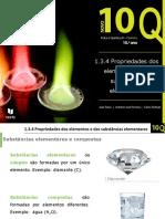 1.3.4. Propriedades Dos Elementos e Das Substâncias Elementares