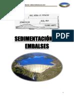Sedimentacion de Embalses Obras