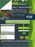 MICROBIOLOGIA PREDICITIVA.APLICACIONES
