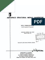 Aerospace Structural Metals Handbook, Volume 3