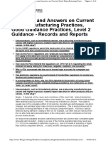 FDA_Level 2 Guidance_Records and Reports