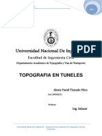 Topografia en Tuneles