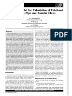 A Generic Model for Calculation of Frictional Losses in Pipe and Annular Flows_-_S.T.johansen-P.skalle-J.sveen