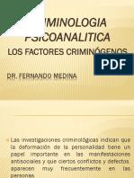 CRIMOLOGIA PSICOANALITICA