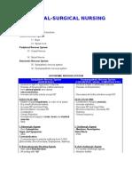 Medical Surgical Nursing Review