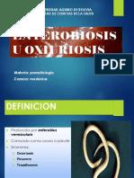 parasitologia oxiuriasis o enterobiosis