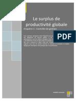 Le Surplus de Productivité Globale