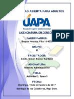 Tarea 3 Derecho Administrativo 19-11-2017