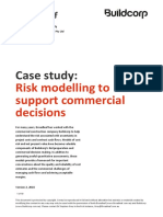 Broadleaf Case Buildcorp Risk Modelling to Support Commercial Decisions 2