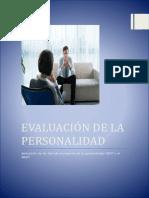 Trabajo Final Evaluacion de La Personalidad