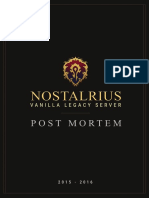 Nostalrius Post Mortem