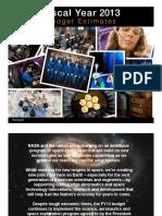 _FY 13 Budget Presentation