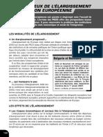 289107464 Les Enjeux de l Elargissement de l Union Europeenne PDF