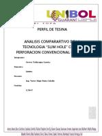 analisis comparativo de la tecnologia slim hole con la perforacion convencional de pozos PERFIL.docx