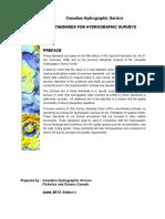 CHS Hydrographic Survey Standards.pdf
