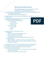 Reglamento Interno Almacen General Oct 2014