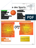 La Gazette des Sports #1