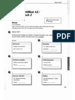 Goethe Zertifikat - Start Deutsch 2 Übungssatz - Fit in Deutsch