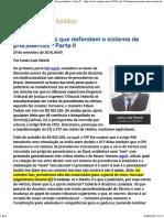 2 - ConJur - Crítica Às Teses Que Defendem o Sistema de Precedentes - Parte II